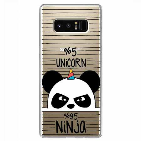 Etui na Samsung Galaxy Note 8 - Ninja Unicorn - Jednorożec.