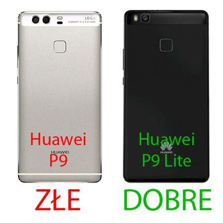 Etui na Huawei P9 Lite Mirror bumper case - Złoty.