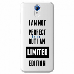 Etui na HTC Desire 620 - I Am not perfect…