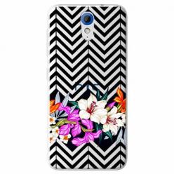 Etui na HTC Desire 620 - Kwiatowy bukiet dla Ciebie.