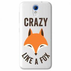 Etui na HTC Desire 620 - Crazy like a fox.