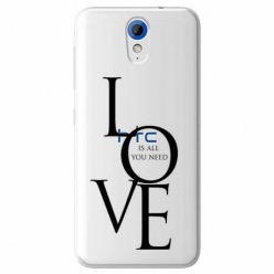 Etui na HTC Desire 620 - All you need is LOVE.