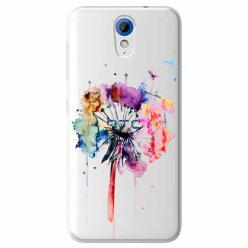Etui na HTC Desire 620 - Watercolor dmuchawiec.
