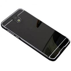 Mirror bumper case na Samsung Galaxy J7 2017 - Czarny