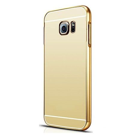 Mirro bumper case na Samsung Galaxy S7 - złoty.