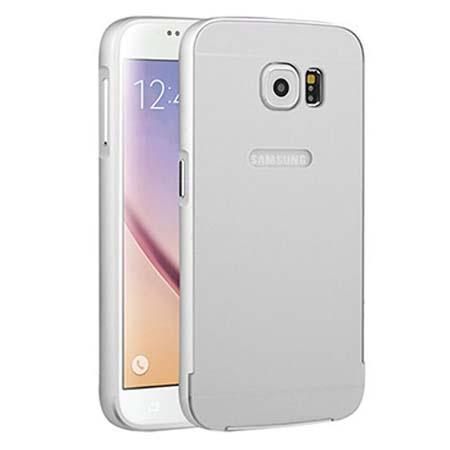 Bumper case na Samsung Galaxy S7 - srebrny.