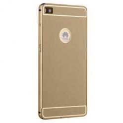 Bumper case na Huawei P8 - Złoty