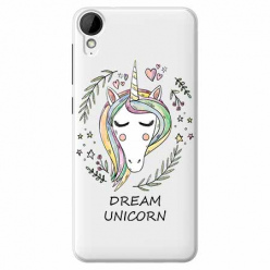 Etui na HTC Desire 825 - Dream unicorn - Jednorożec.