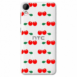 Etui na HTC Desire 825 - Wiśniowa plejada.