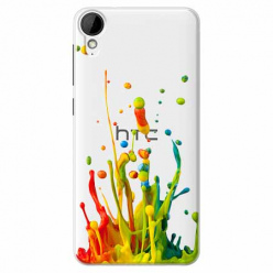 Etui na HTC Desire 825 - Kolorowy splash.