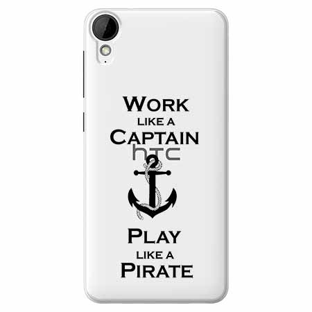 Etui na HTC Desire 825 - Work like a Captain…