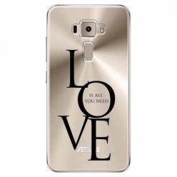 Etui na Zenfone 3 - All you need is LOVE.