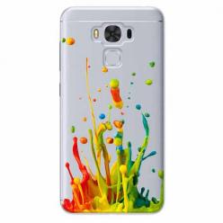 Etui na Zenfone 3 Max - Kolorowy splash.