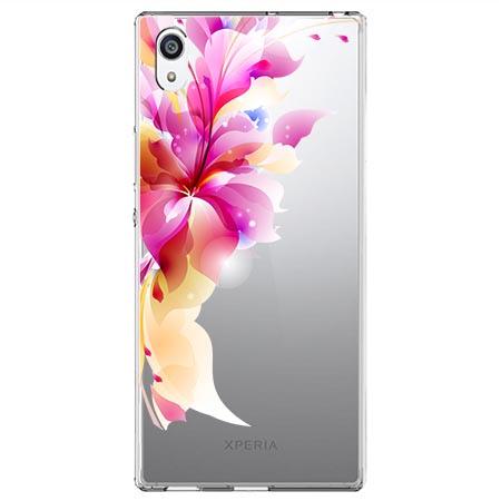 Etui na Sony Xperia E5 - Bajeczny kwiat.