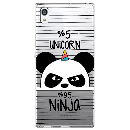 Etui na Sony Xperia E5 - Ninja Unicorn - Jednorożec.