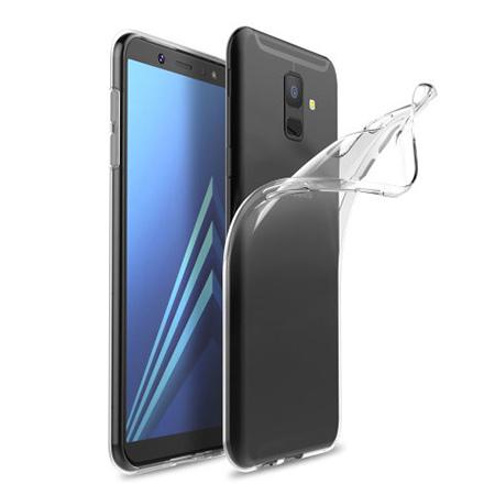 Etui na Samsung Galaxy A6 2018 - silikonowe, przezroczyste crystal case.