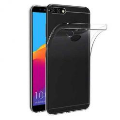 Etui na Huawei Y7 Prime 2018 - silikonowe, przezroczyste crystal case.