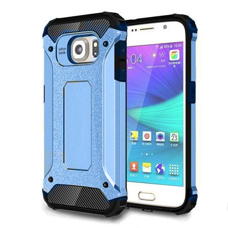 Pancerne etui na Samsung Galaxy S6 Edge - Niebieski