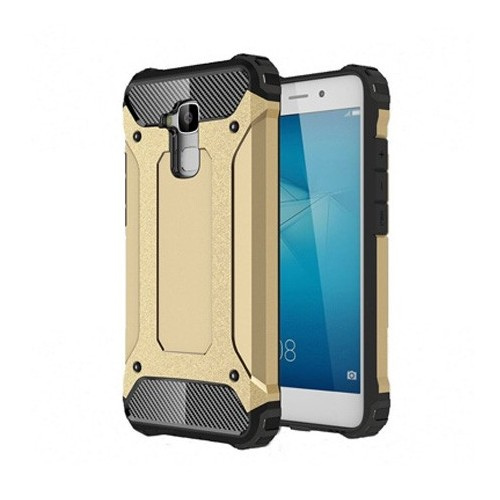 Pancerne etui na Huawei Honor 7 Lite - złoty.