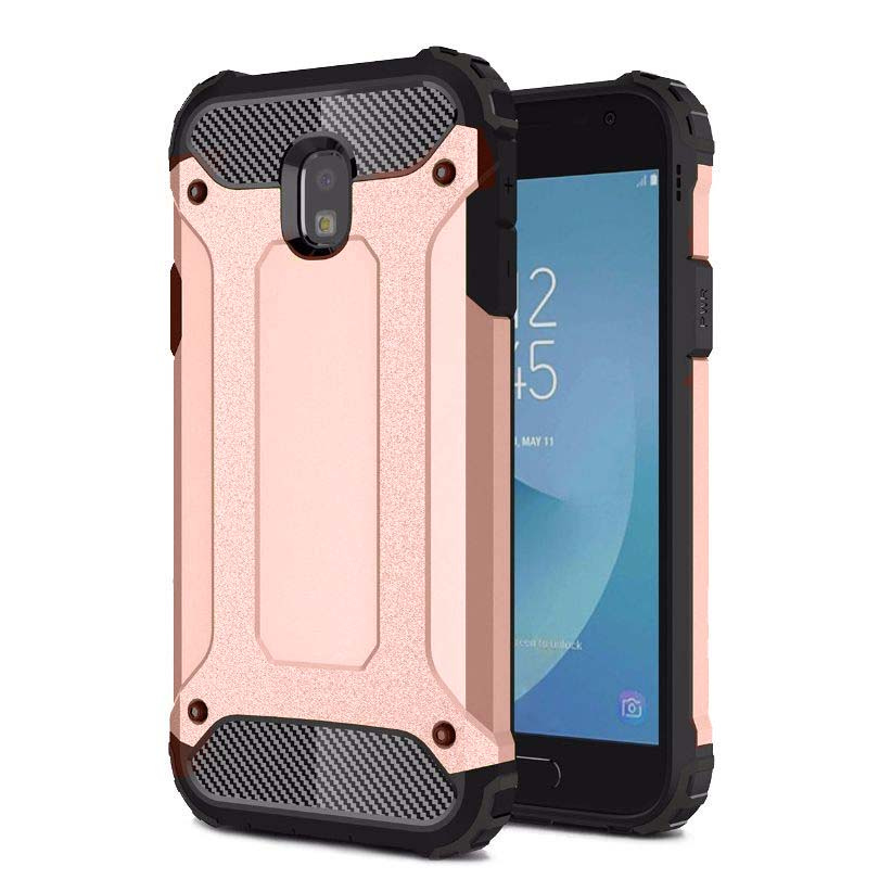 Samsung Galaxy J7 Pro etui pancerne - różowy