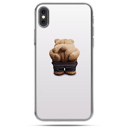 Etui na telefon iPhone XS - miś Paddington