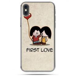 Etui na telefon iPhone XS - First Love