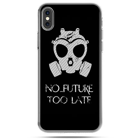 Etui na telefon iPhone XS - No future