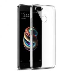 Etui na Xiaomi Mi 5x - silikonowe, przezroczyste crystal case.