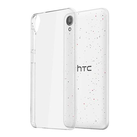 Etui na HTC Desire 825 - silikonowe, przezroczyste crystal case.