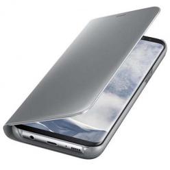 Oryginalne etui na Samsung Galaxy S8 - Clear View - Srebrny