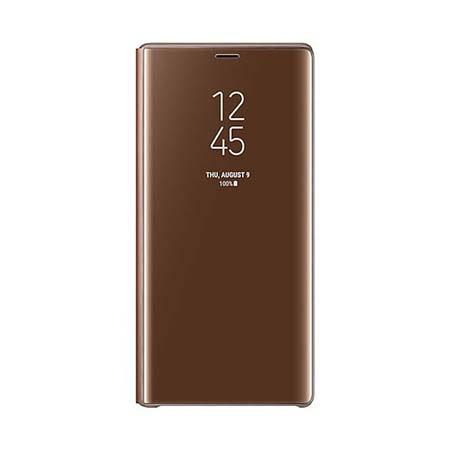 Oryginalne etui na Samsung Galaxy Note 9 - Clear View Złoty
