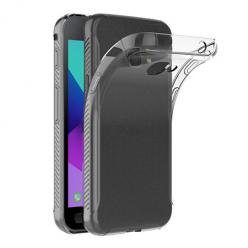 Etui na Samsung Galaxy Xcover 4 - silikonowe, przezroczyste crystal case.