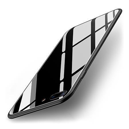 Etui na Apple iPhone 8 Plus - GLAZZ Kejs - Czarny