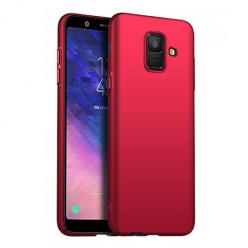 Etui na telefon Samsung Galaxy J6 2018 - Slim MattE - Czerwony.