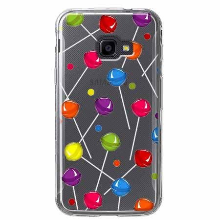 Etui na Samsung Galaxy Xcover 4 - Kolorowe lizaki.