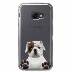 Etui na Samsung Galaxy Xcover 4 - Słodki szczeniaczek.