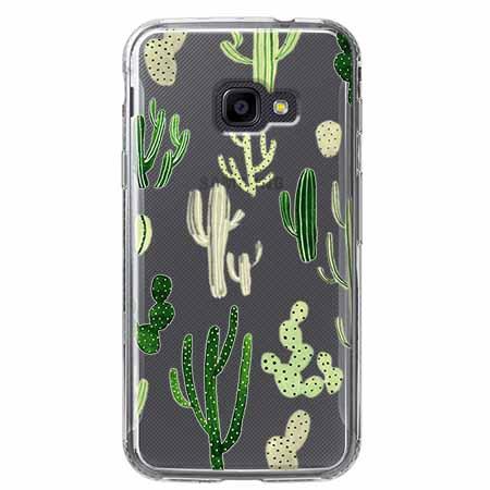 Etui na Samsung Galaxy Xcover 4 - Kaktusowy ogród.