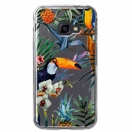 Etui na Samsung Galaxy Xcover 4 - Egzotyczne tukany.