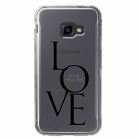 Etui na Samsung Galaxy Xcover 4 - All you need is LOVE.