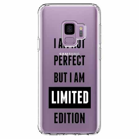 Etui na Samsung Galaxy S9 - I Am not perfect…