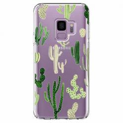 Etui na Samsung Galaxy S9 - Kaktusowy ogród.