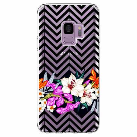 Etui na Samsung Galaxy S9 - Kwiatowy bukiet dla Ciebie.
