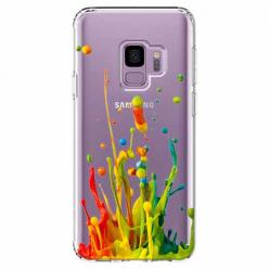 Etui na Samsung Galaxy S9 - Kolorowy splash.