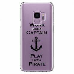 Etui na Samsung Galaxy S9 - Work like a Captain…