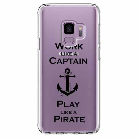 Etui na Samsung Galaxy S9 - Work like a Captain…