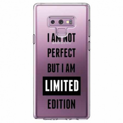 Etui na Samsung Galaxy Note 9 - I Am not perfect…