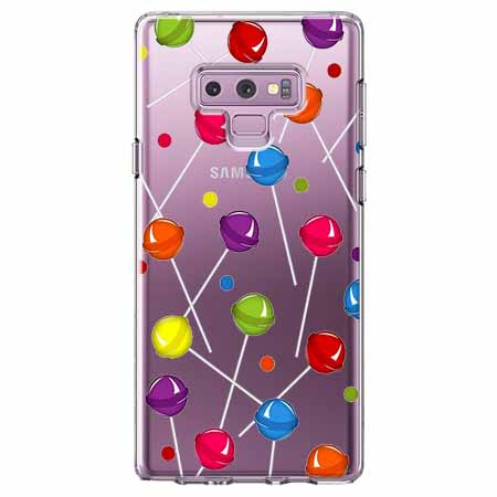 Etui na Samsung Galaxy Note 9 - Kolorowe lizaki.