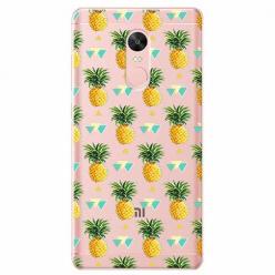 Etui na telefon Xiaomi Redmi 5 - Ananasowe szaleństwo.