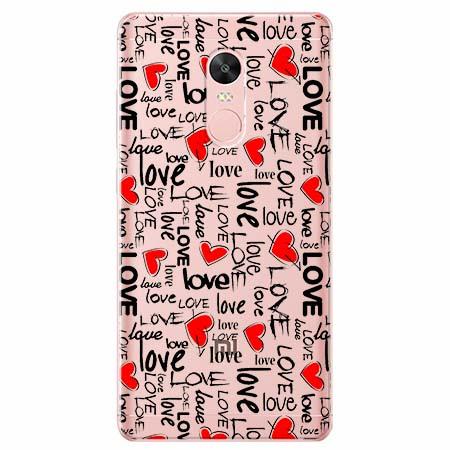 Etui na telefon Xiaomi Redmi 5 - Love, love, love…