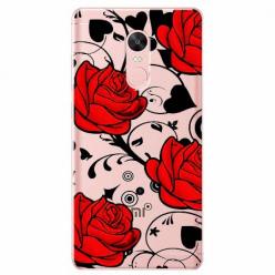 Etui na telefon Xiaomi Redmi 5 - Czerwone róże.